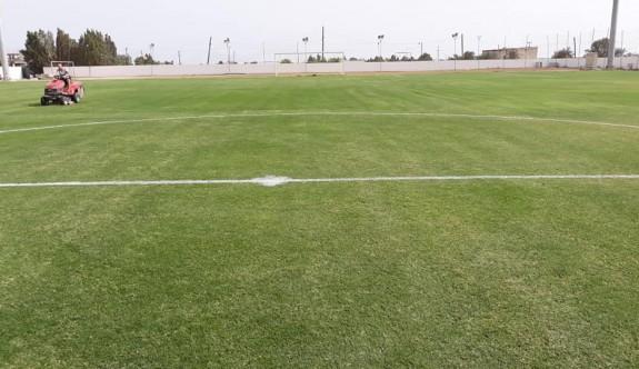Cumhuriyet Stadı'nda, güzel bir futbol atmosferi yaratıldı