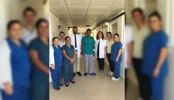 Dr. Burhan Nalbantoğlu Devlet Hastanesi'nde bir ilk