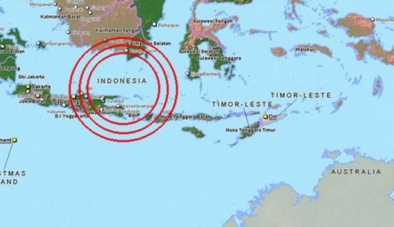 Endonezya yine sallandı