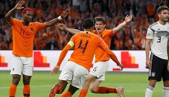 Hollanda'dan Almanya'ya fark