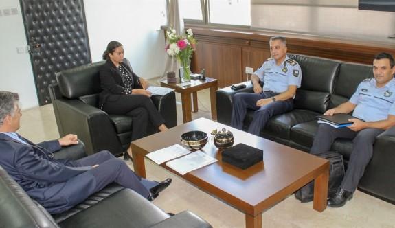 İçişleri Bakanlığı'nda güvenlik konusu masaya yatırıldı
