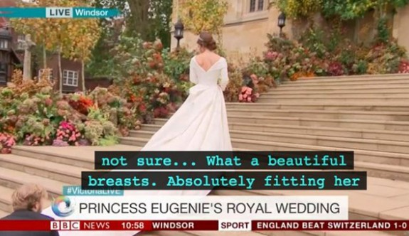 Kraliyet düğününde skandal