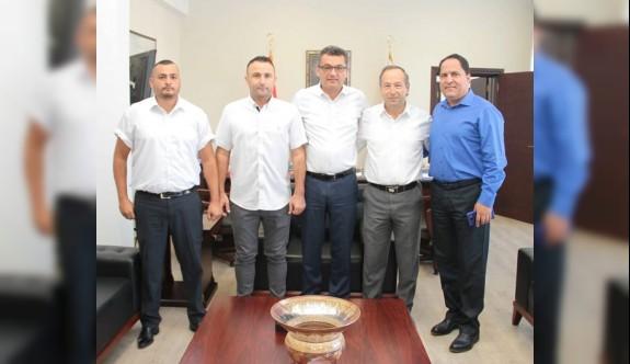 Kulüpler Birliği yönetimi, Başbakan ile görüştü
