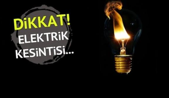 Lefkoşa'da birçok bölgede elektrik kesintisi yapılacak