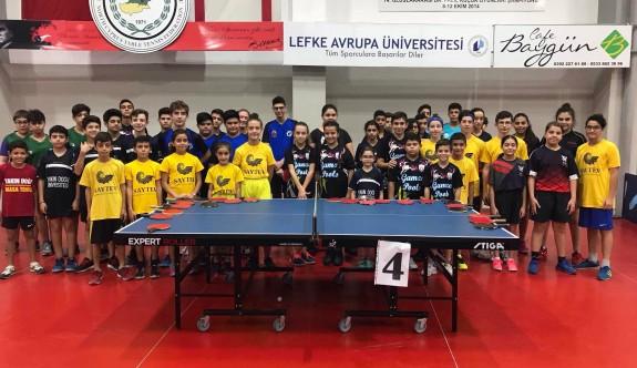 Masa Tenisi'nde Yıldızlar Ligi başladı