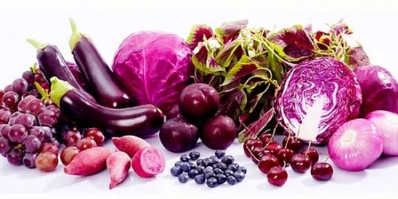 Mor yiyeceklerin sağlığa faydaları