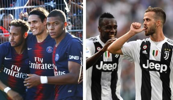 PSG ve Juventus rekora koşuyor