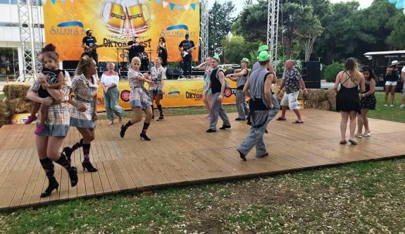 Salamis'te  'Oktoberfest' coşkusu