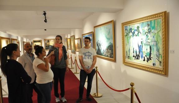 Sanatçılar, Kıbrıs Modern Sanat Müzesi'ne hayran kaldı