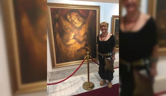 Sükan'ın sergisi, YDÜ Sanat Merkezi'nde açılıyor