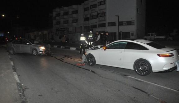 Ters yönde giden turist kazaya neden oldu