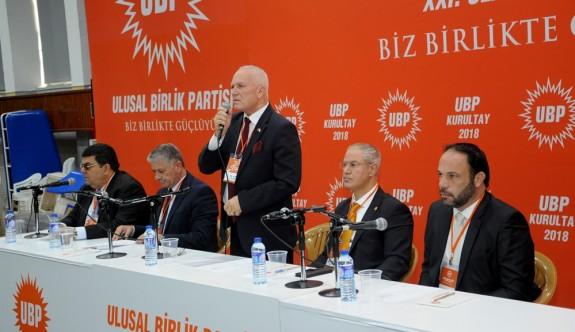 UBP'de başkan tüzük gereği Cumartesi ilan edilecek