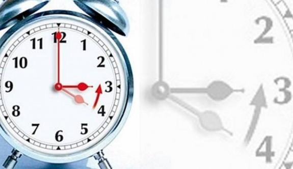 Yaz saati uygulaması yarın sabah 04.00'de sona eriyor