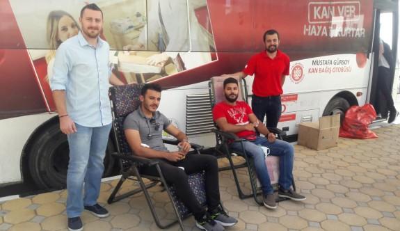 YDÜ Kampüsü'nde 161 ünite kan toplandı