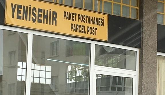Yenişehir Paket Postanesi eski Araç Kayıt binasına taşınıyor