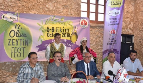 Zeytin Festivali başlıyor