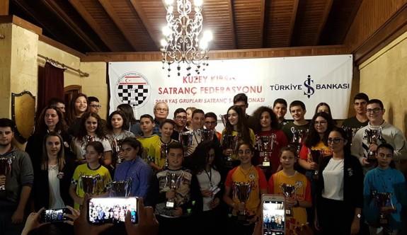 2019 KKTC Yaş Grupları Satranç Şampiyonları belli oldu
