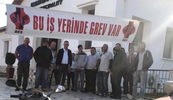 Esentepe Belediyesi'nde çalışanlar kazan kaldırdı
