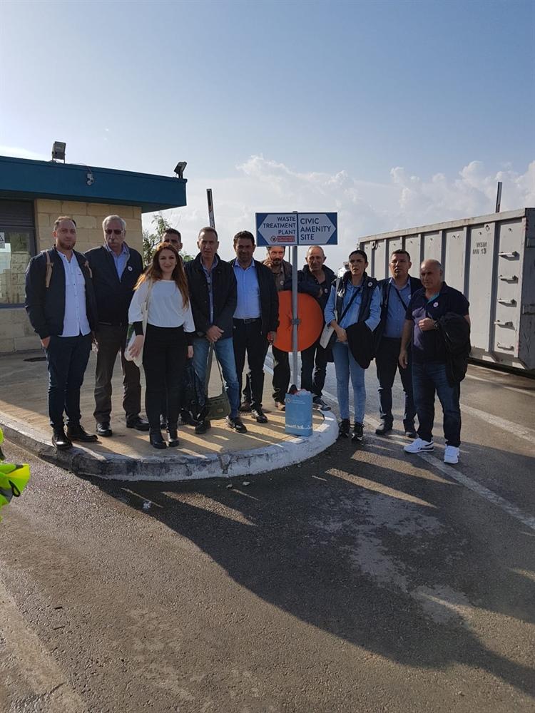 Girne Bölgesi'ndeki belediyeleri Malta'da inceleme yaptı