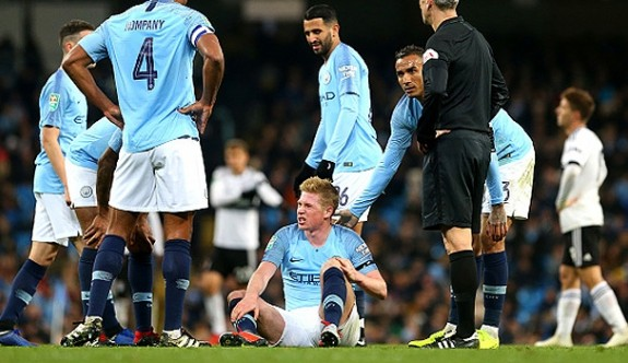 Manchester City'de De Bruyne şoku
