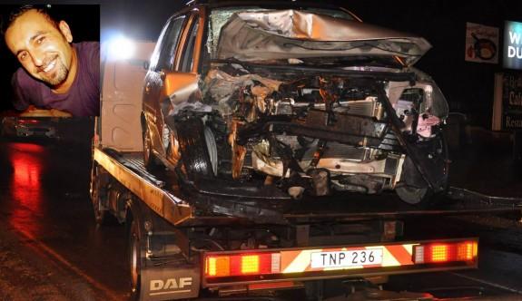 Ölümlü kazaya üç buçuk yıl hapis cezası