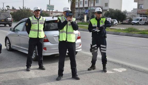 Son bir haftada 681 araç sürücüsü rapor edildi
