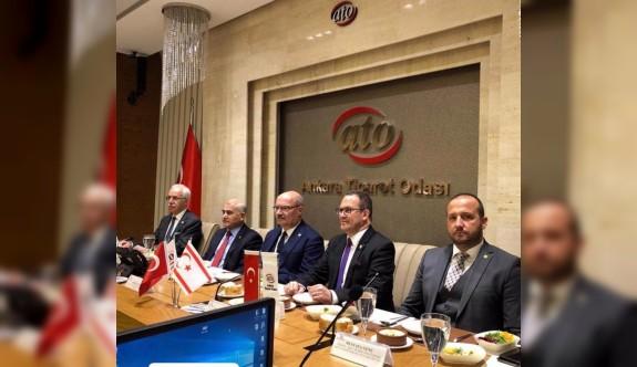 Ticaret Odası'ndan Ankara'da önemli temaslar