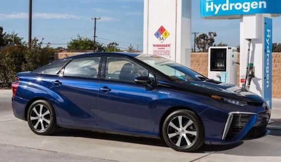 Toyota hidrojende de iddialı