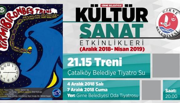 """""""21:15 Treni"""" oyunu Girne'de sahnelenecek"""