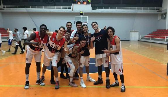 Basketbolda şampiyon GAÜ