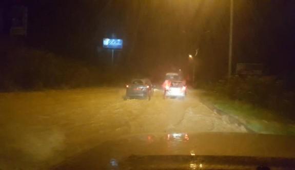 Girne - Lefkoşa anayolu trafiğe kapatıldı