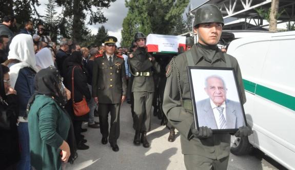 Mehmet Salih Sucuoğlu askeri törenle defnedildi