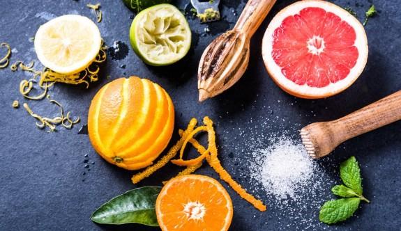 Meyve kabuklarının şaşırtıcı faydaları
