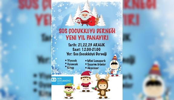 """SOS Çocukköyü, """"Yeni Yıl Panayırı"""" düzenliyor."""