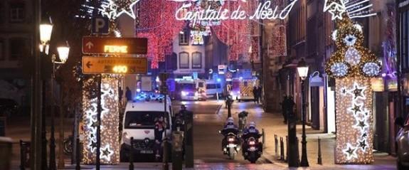 Strazburg'da silahlı saldırı: 2 ölü 11 yaralı