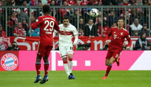 Bayern Munih, Ozan Kabak'lı Stutgart'ta acımadı