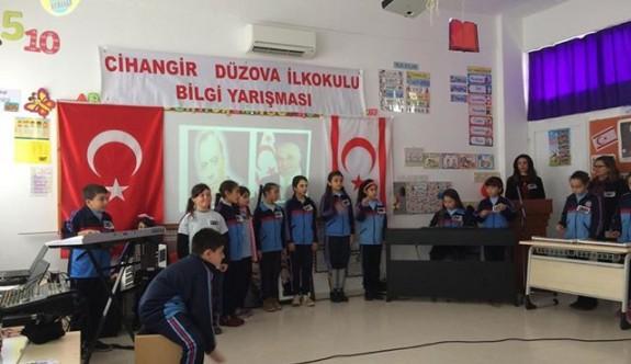 Cihangir - Düzova İlkokulu'ndan anlamlı etkinlik