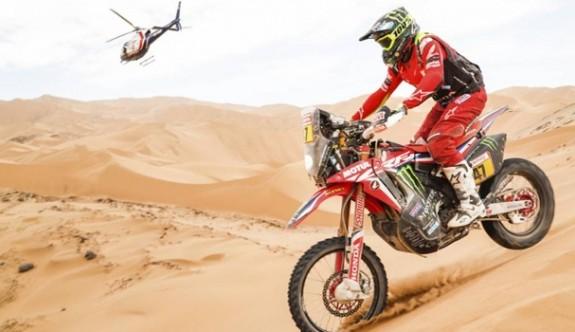 Dakar Rallisi'nin 5. gününe Fransız sporcular damga vurdu