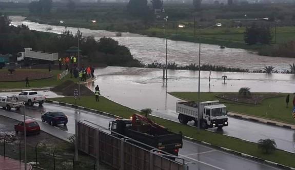 Dikkat: Güzelyurt - Akdeniz eski yolu trafiğe kapatıldı