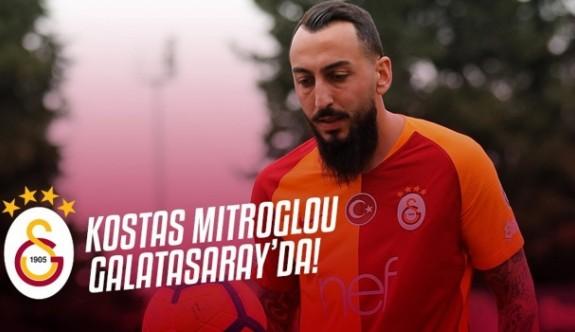 Galatasaray, Mitroglou'nu açıkladı