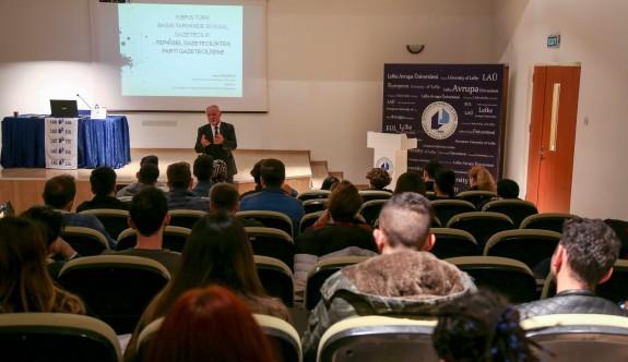 Kıbrıs Türk basın tarihi LAÜ'de konuşuldu