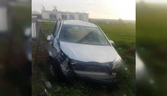Korkuteli'ndeki kazada 5 kişi yaralandı