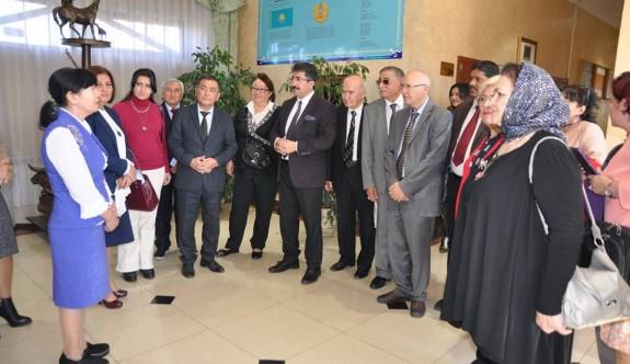 Kural Kömek'i anma töreninde Ahmet Göksan KKTC'yi temsil etti