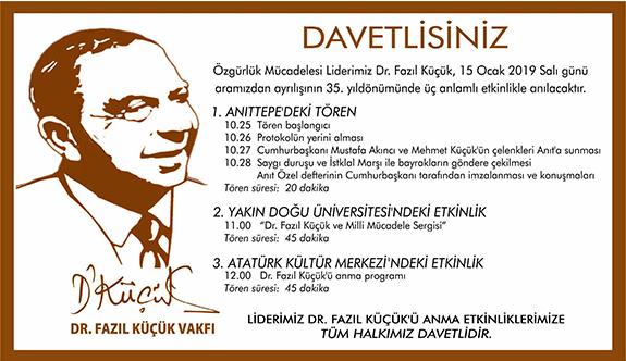 Liderimizi sevgi ve saygıyla anıyoruz