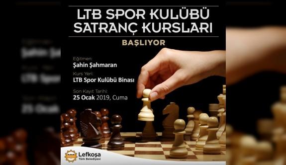 LTB'de satranç kurs kayıtları başlıyor