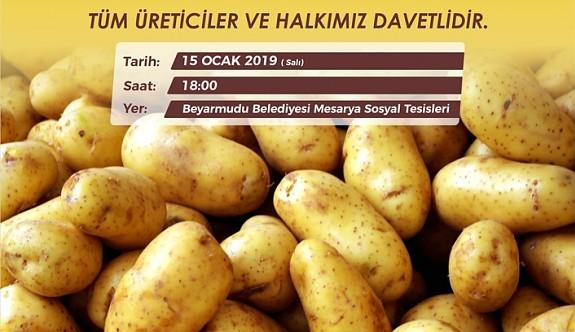 Türkiye'de geliştirilen yeni patates çeşidinin deneme ekimi yapılacak