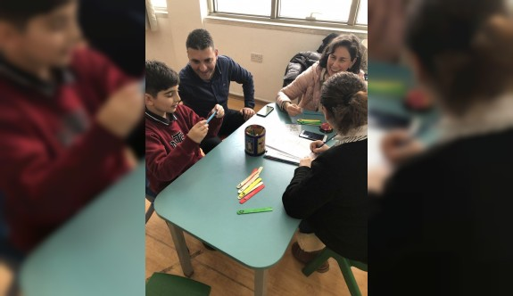 YDK'lı öğrenciler eğlenerek öğreniyor