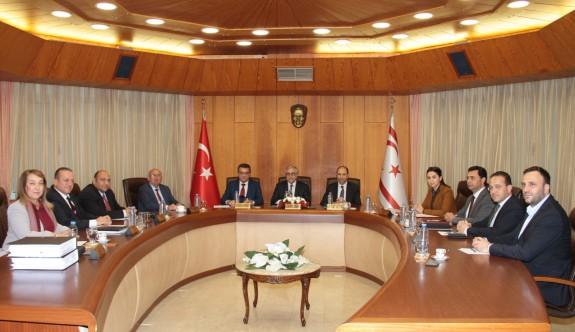Akıncı, Bakanlar Kurulu'nu Kıbrıs sorunu hakkında bilgilendiriyor