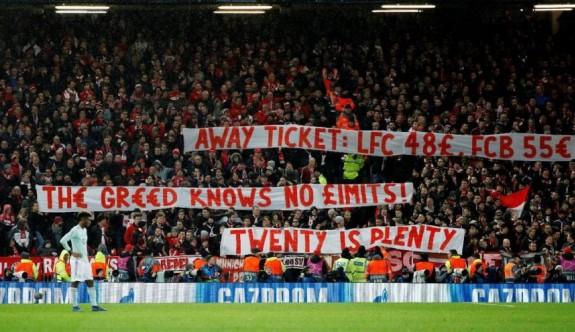 Bayern Münih taraftarlarından bilet fiyatlarına tepki