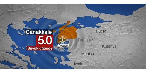Çanakkale Ayvacık 5,0'la sallandı
